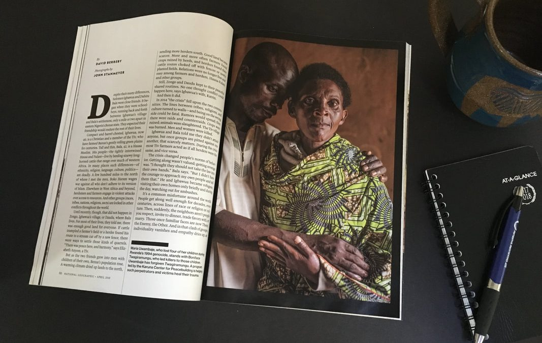 The stories behind the National Geographic photographs: Healing Our Communities